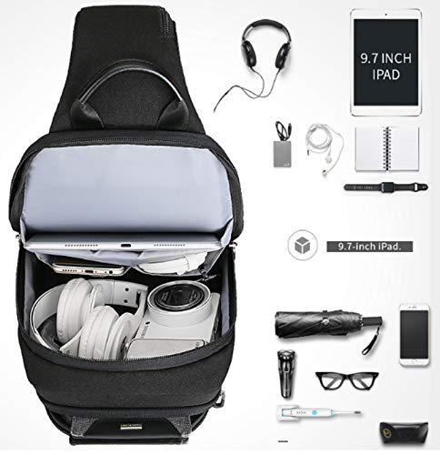 Outdoor Uomo Fanny Zaino Shoulder Sling Mark Ryden Chest Bag A Unbalance Grigio Bike Gym Monospalla Spalla Borsa kTlwXPZiOu