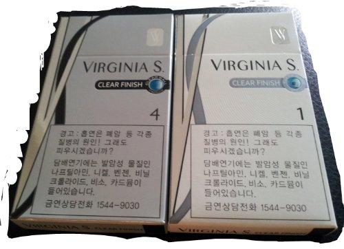 virgina-slim-cigarette-empty-packsmade-for-retail-store-displaykorean