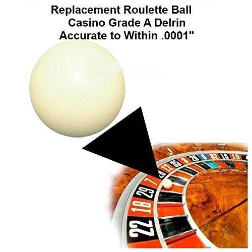 (Two) 3/4 Inch Casino Grade Roulette Ball (Pill) - Item 20-1006x2