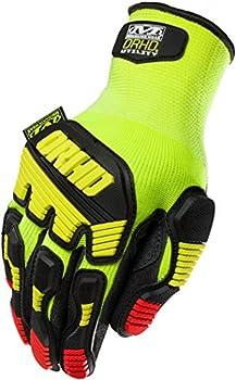 Mechanix Wear KHD-GP-009 ORHD Knit Utility, Hi-Viz Yellow, Medium