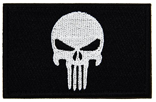 ArcEnCiel Tactical Patch - Skull (Black)