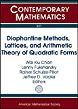 Diophantine Methods, Lattices, and Arithmetic Theory of Quadratic Forms, , 0821883186