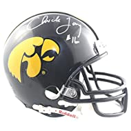 c103c4002af Chuck Long Autographed Iowa Hawkeyes Mini Helmet !! - ChristopherDoddMw