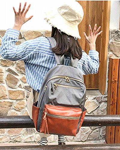 De En Femme Gris Voyage College Noir Et Capacité Dos À Large Fille Jolie Bagages Cartable Cuir Sac Scolaire Sac Pour Pu wAYZ4xRFqF