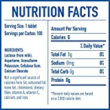 EQUAL 0 Calorie Sweetener Tablets, Sugar