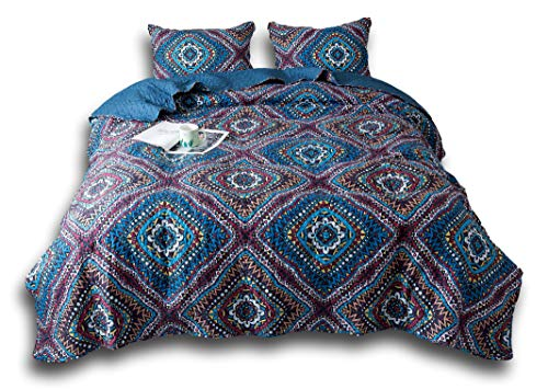 DaDa Bedding Collection Bedspread-Set, King, Blue