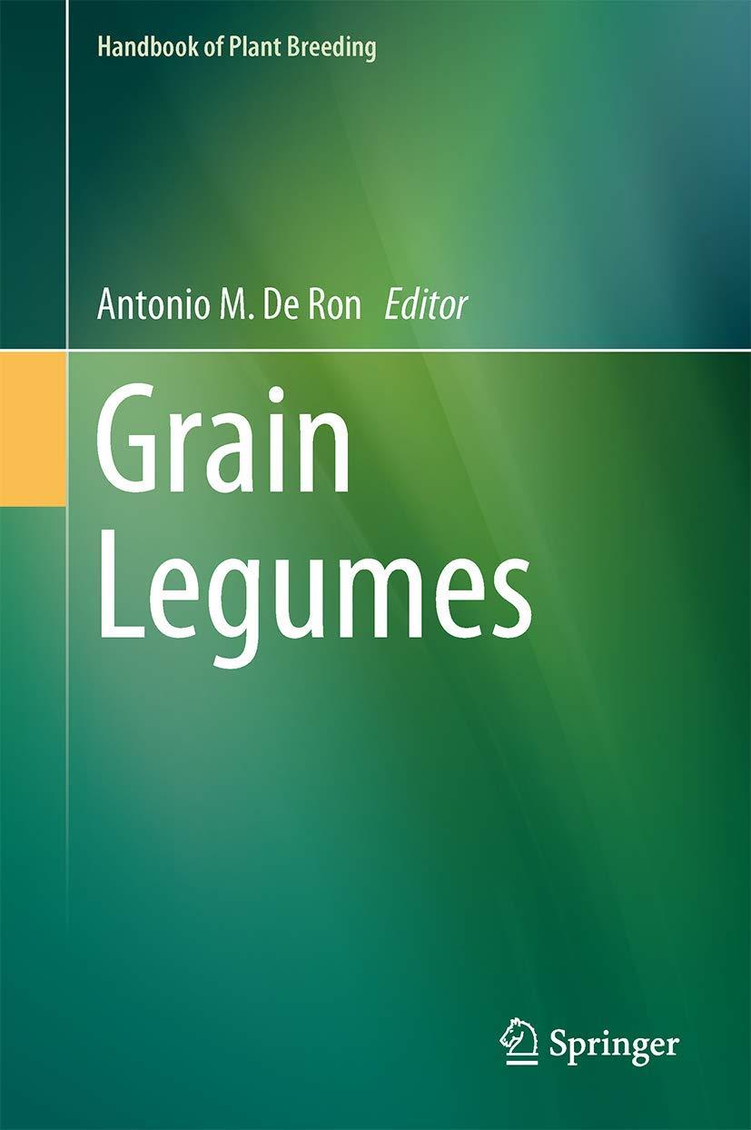 Grain Legumes: 10 (Handbook of Plant Breeding): Amazon.es: De ...