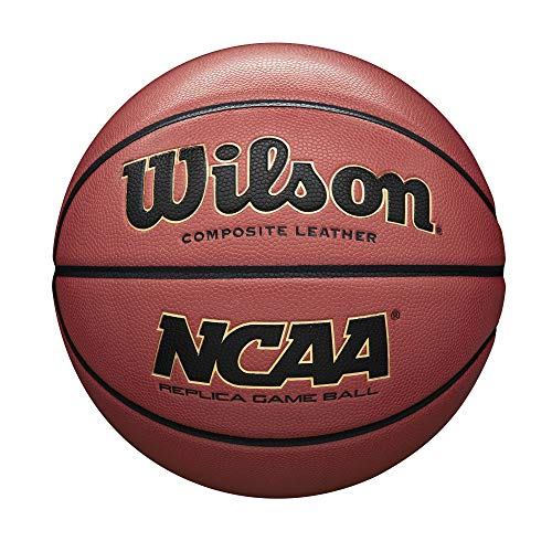(Wilson NCAA Replica Game Basketball, Official -)