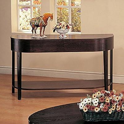 Coaster Furniture Wood Top Sofa Table - Cappuccino