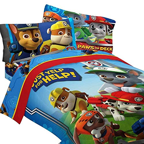 Which are the best paw patrol bedding twin size bed available in 2020?