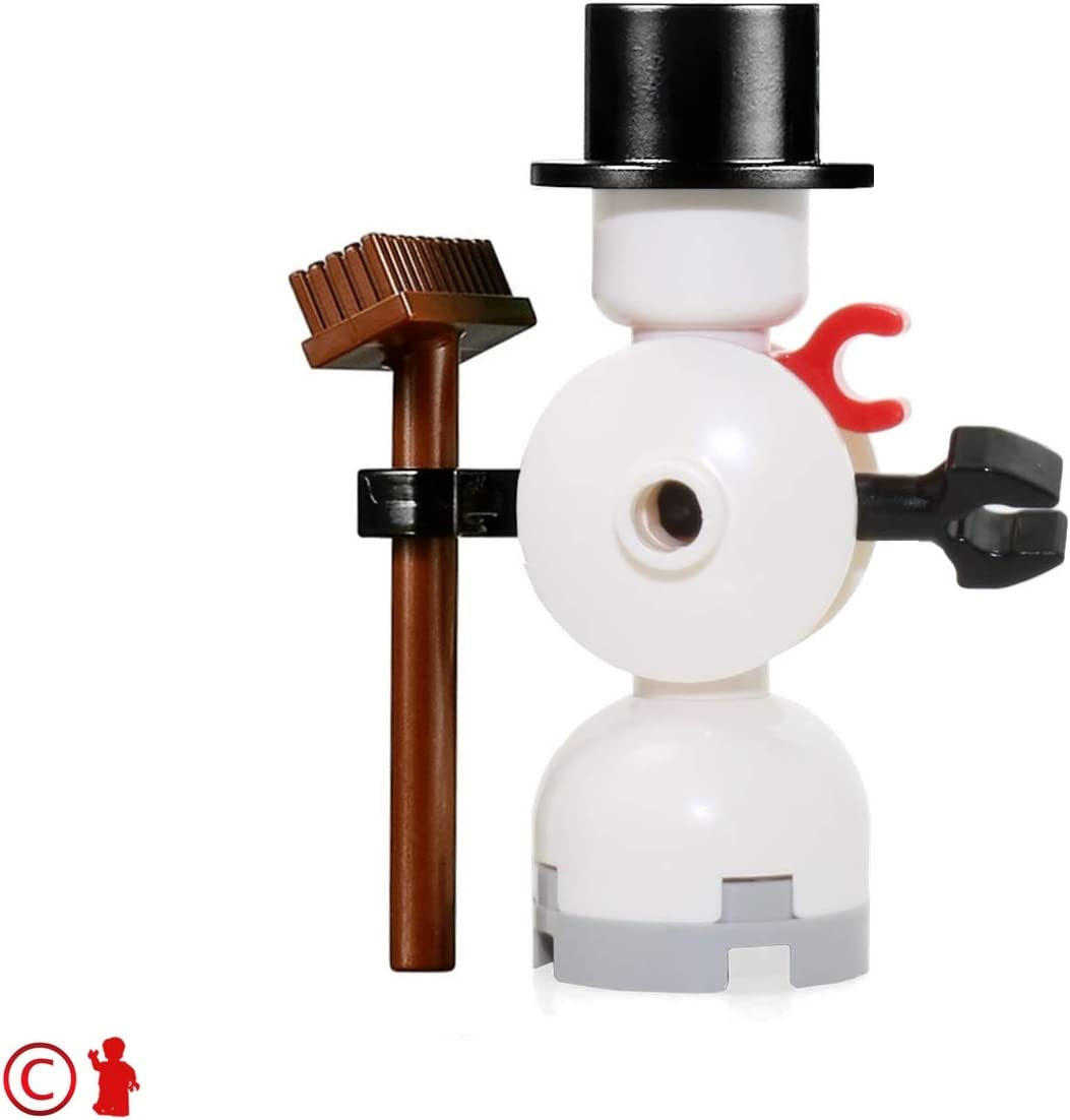 LEGO Holiday MiniFigure - Snowman (with Broom and Top Hat) 10249