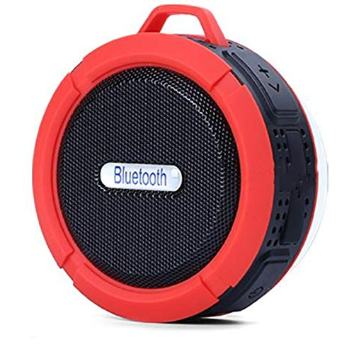 YUUMI Portable Mobile Phone Wireless Bluetooth 4.0 Speaker subwoofer Waterproof with Suction Cup Mini Card Small Sound