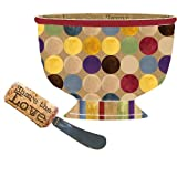 Share the Love Ceramic Bowl / Spreader Gift Set