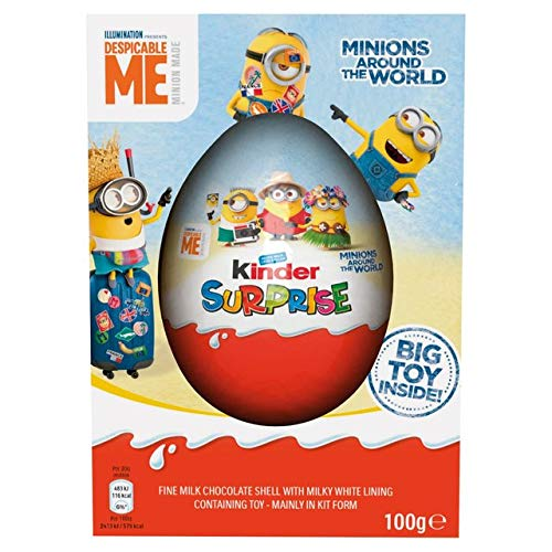 Huevo Kinder100 Sorpresa Gigante De Gideal Pascua Como wOkZXulTPi