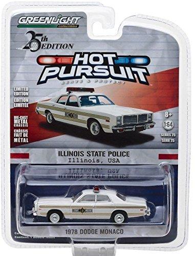 Greenlight 1/64 Illinois State Police 1978 Dodge Monaco