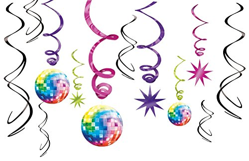 70's Party Swirl Decorating -