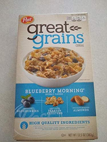 Breakfast Cereal: Blueberry Morning