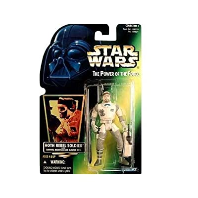 Star Wars: Power of the Force Green Card > Hoth Rebel Soldier Action Figure