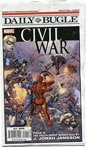daily-bugle-civil-war-newspaper-special-1-vf-nm-marvel-comic-book
