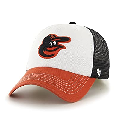 Men's 47 Brand Mckinley Baltimore Orioles Fitted Hat