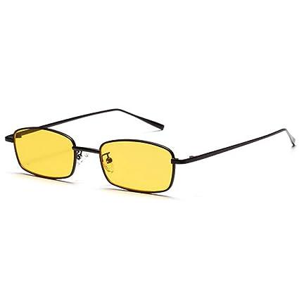 CJJC Las Gafas de Sol Modernas de la Manera Cuadrada de la ...