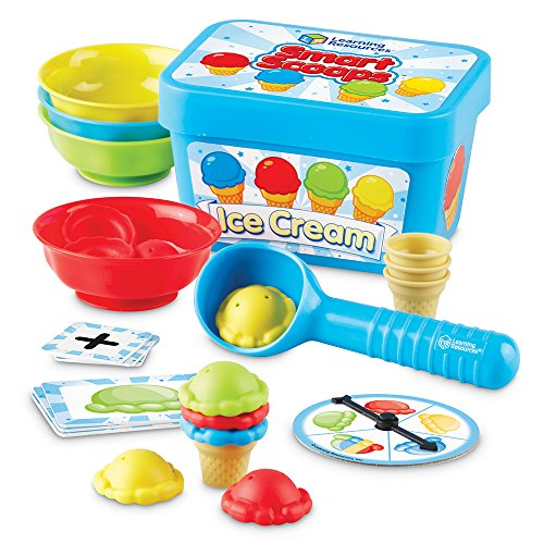 Game Counting Kindergarten - Learning Resources Smart Scoops Math Activity Set