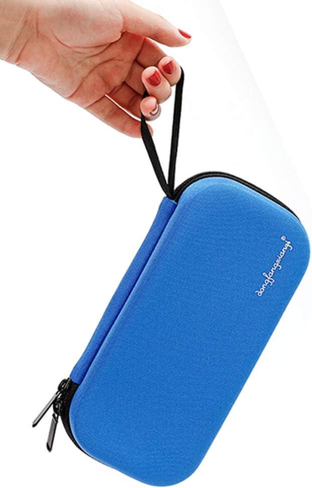 Borsa Termica per Insulina per Viaggiare / Impacco di Ghiaccio Non Incluso STEPRAE Organizer per Diabetici con Custodia da Viaggio per Insulina /Kit da Viaggio Nero
