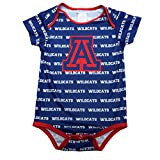 University of Arizona Boys Short Sleeve Onesie