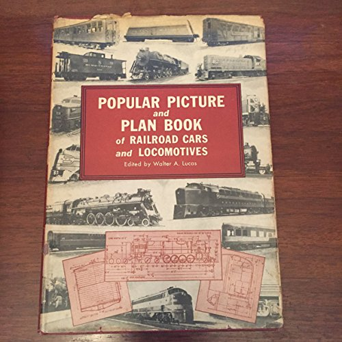 - Popular Picture and Plan Book of Railroad Cars and Locomotives