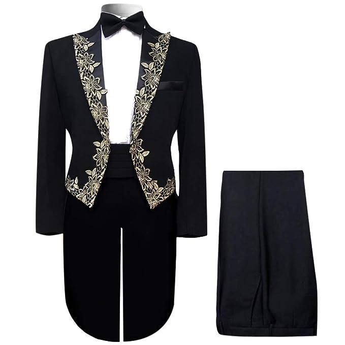 Amazon.com: Boyland - Trajes formales para hombre, 4 piezas ...