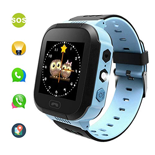 Benobby Kids Gifts, Anti-Water Smart Kids Watches for Android and iOS Phones, Work as Smartphones with Screen Control Games, Camera, SOS Emergency Call and Installed apps. (Best Emergency Phone For Kids)