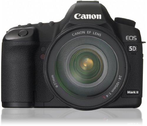 キヤノン イオス5Dマークツーブラック レンズキット EF24105mm F4L IS USMの商品画像