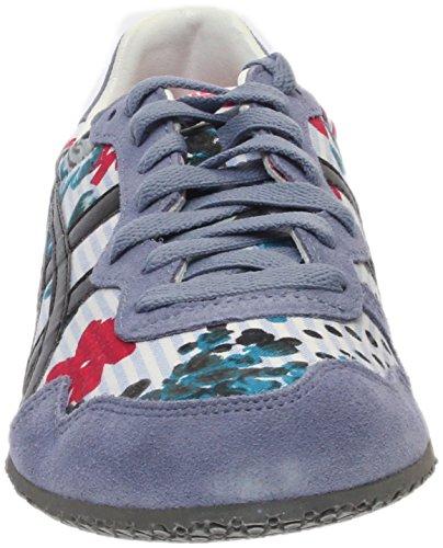 Running Classic Onitsuka Serrano Black Blue Tiger Shoe Womens Stripe Rqq1I