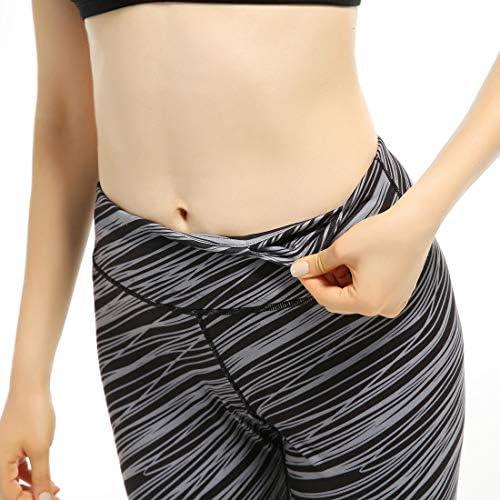 ヨガウェア 女性のランニングスーパー弾性フィットネスパンツスリム薄いハイウエスト速乾性ランニングパンツおなかコントロールパワーストレッチヨガレギンス