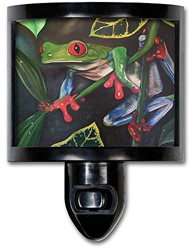 - Art Plates NL-463 Red Eyed Tree Frog Night Light