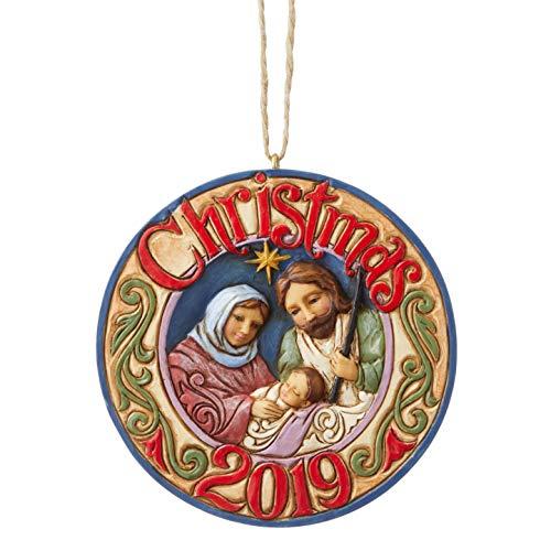 Halloween Loop 2019 (Enesco Jim Shore 6004299 2019 Holy Family Hanging Ornament,Resin,One)