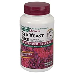 Nature\'s Plus - Extended Release Red Yeast Rice 600Mg (7361), 60 tablets