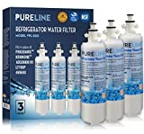 PureLine Compatible LT700P Refrigerator Water Filter Replacement, Also Fits ADQ36006101, ADQ36006102, LT700P, Kenmore 46-9690 (9690) (3 Pack)