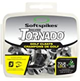 Softspikes Tornado Golf Tour Lock Cleats, Silver