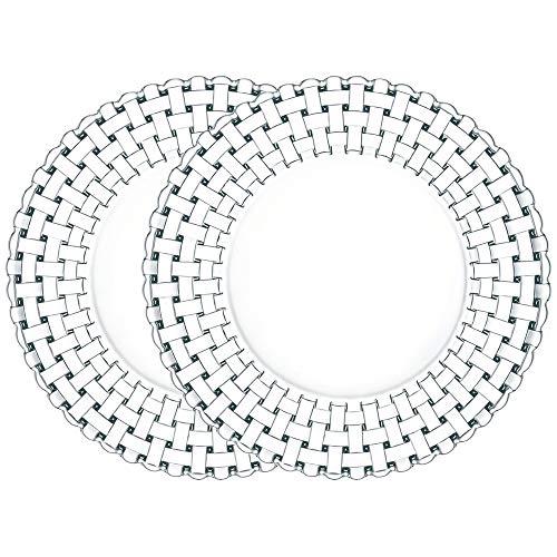 - Nachtmann 93511 Bossa Nova Crystal Charger Plate, 12