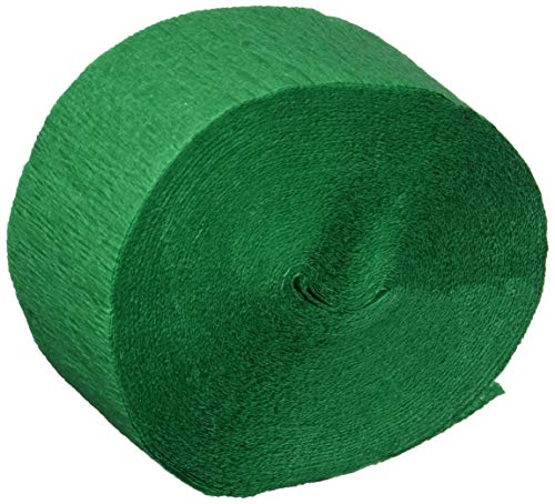 FR Festive Crepe Streamer (green) Party Accessory  (1 count) (1/Pkg) -