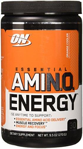 Optimum Nutrition Amino Energy, Orange Cooler, 30 Serving by Optimum Nutrition