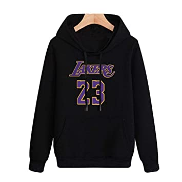 Sudadera con Capucha De La NBA 2019 L.A Lakers James # 23 Primavera ...