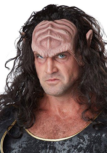 Tavern Man Costumes (California Costumes Men's Deep Space Warlord, Dark Brown/Flesh, One Size)