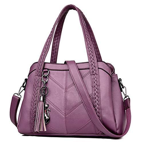 Mjfo Borse Tote Tracolla Donna Borsa L31cm Purple Thk11cm A RagazzeBluL42cm Borsette Mano Per xdeCBor