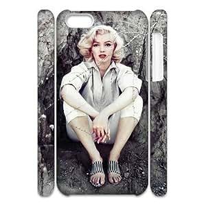 C-EUR Diy 3D Case Marilyn Monroe for iPhone 5C