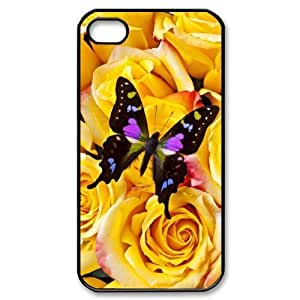 Butterfly1 CHA8046522 Phone Back Case Customized Art Print Design Hard Shell Protection Iphone 4,4S