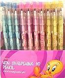 : Looney Tunes Tweety Bird 3 pencil set : Non-Sharpening HB pencil