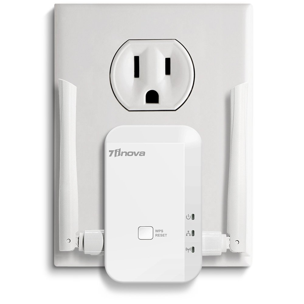 Amazon.com: 7INOVA N300 WiFi Range Extender/Repeater/Booster with Ethernet Port-External Antenna: Computers & Accessories