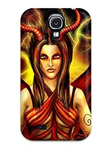 BZAeCjA8620ujHdl Case Cover, Fashionable Galaxy S4 Case - Demon